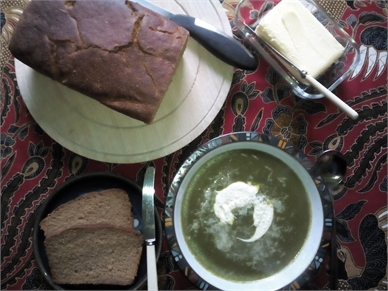 Cream of Spinach and Coconut Soup