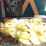 Yurt Pie created by the Growing Well kitchen team